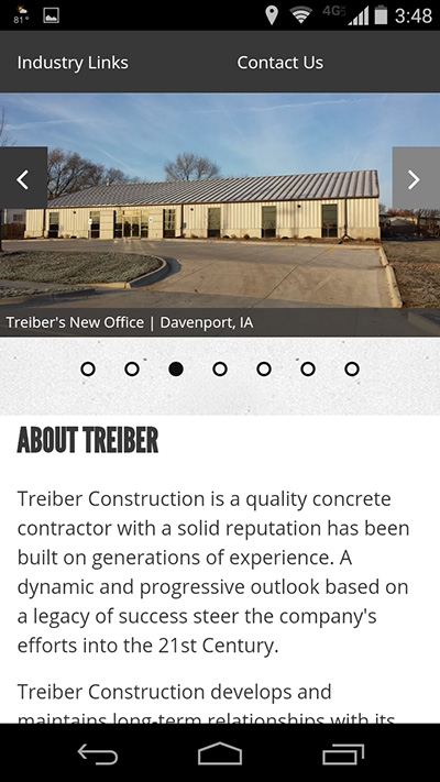 Treiber Construction