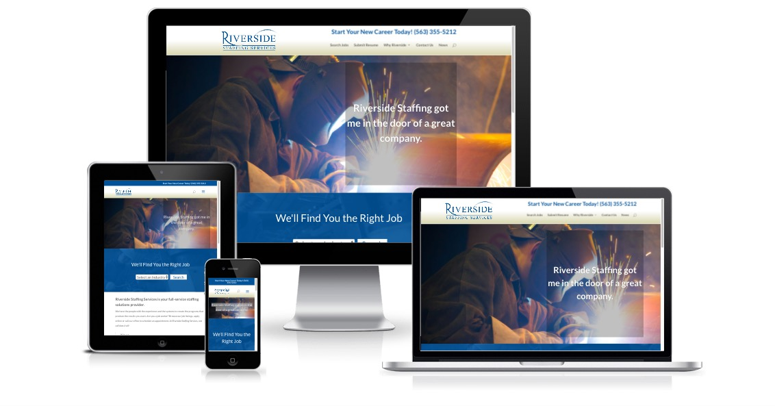 Riverside Staffing responsive devices