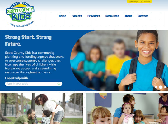 Scott County Kids Website detail image