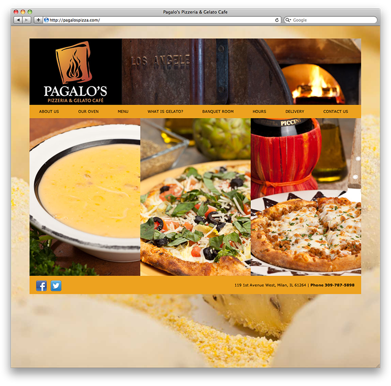 Pagalo's Pizzeria Homepage