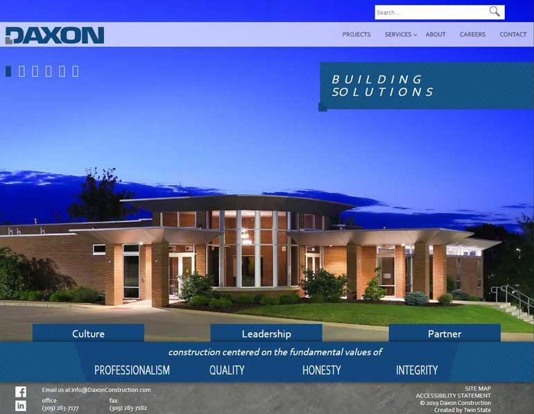 Daxon Construction desktop